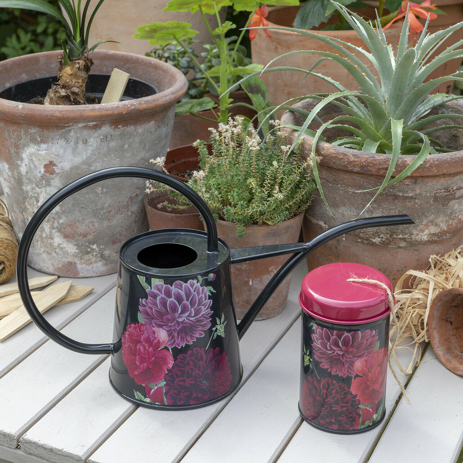 Burgon & Ball – RHS British Bloom Indoor Watering Can