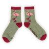 Powder – Pink 'Happy Birthday' Ankle Socks with Presentation Gift Bag
