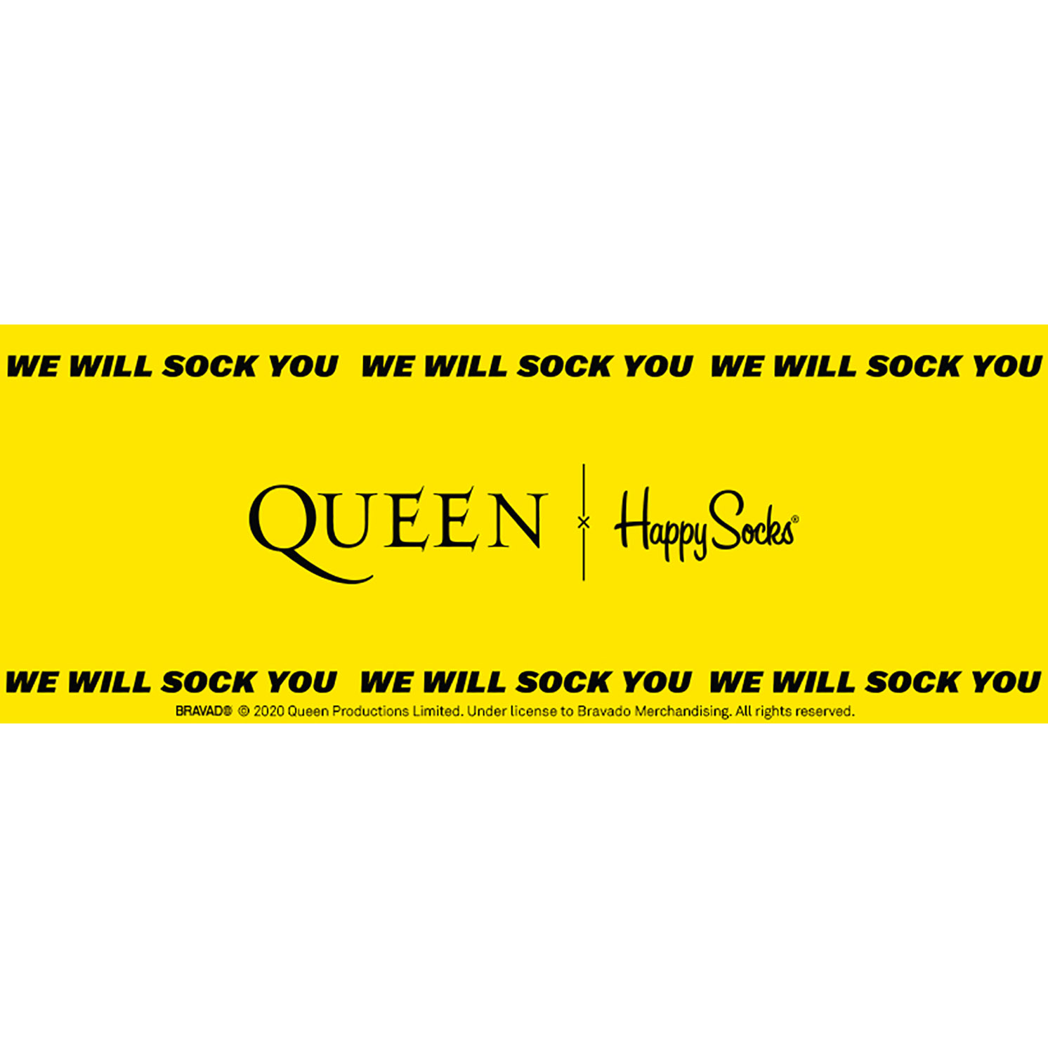 Happy Socks – Queen Radio Ga Ga Sock