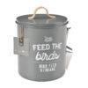 Burgon & Ball – Stone 'Feed the Birds' Bird Food Tin and Scoop