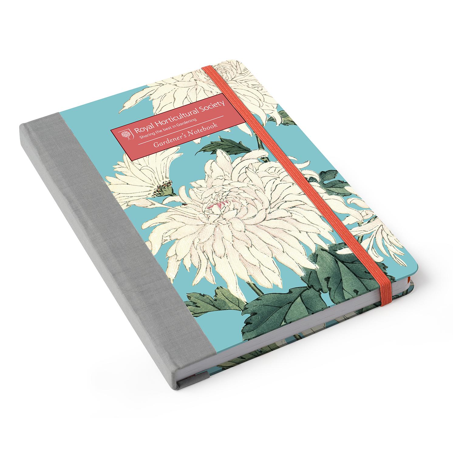 Burgon & Ball – RHS Chrysanthemum Gardener's A5 Notebook