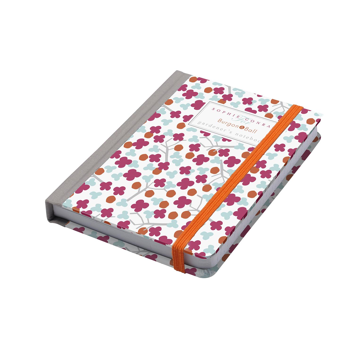 Burgon & Ball – Sophie Conran Gardener's A6 Notebook in Cherry