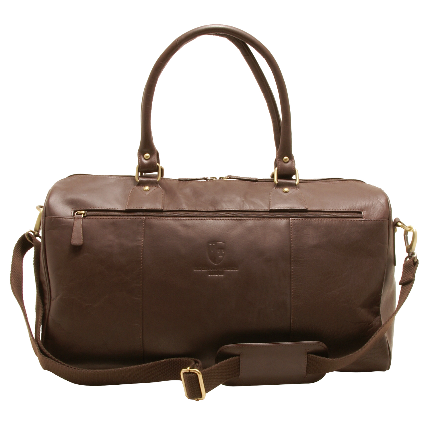 Underwood & Tanner – Brown George Shoreditch Leather Travel Holdall