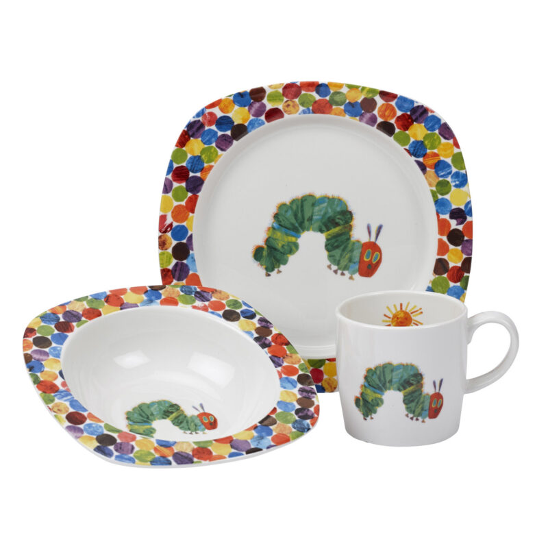 Portmeirion – The Very Hungry Caterpillar 3 Piece Set in Presentation Gift Box