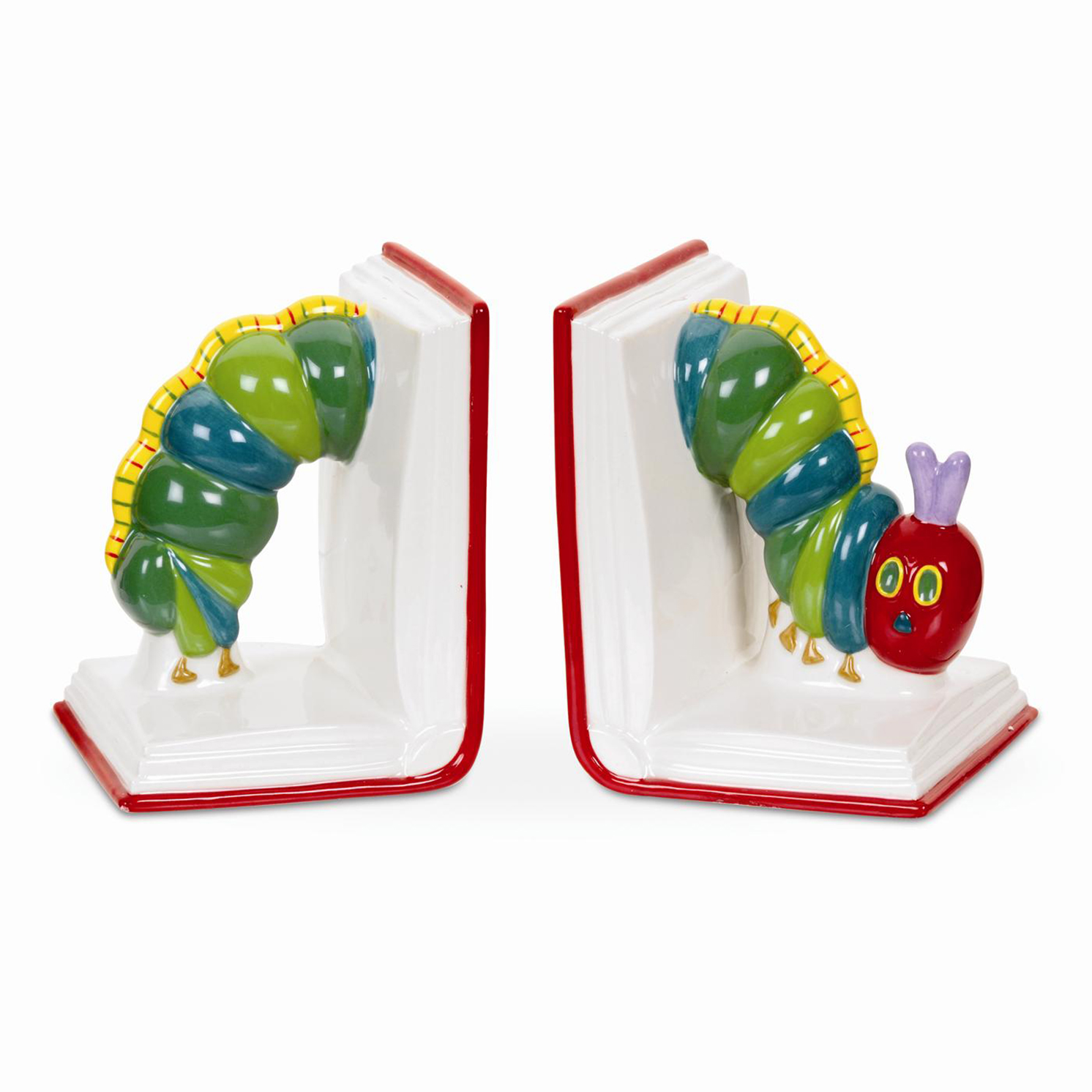 Portmeirion – The Very Hungry Caterpillar Book Ends in Presentation Gift Box