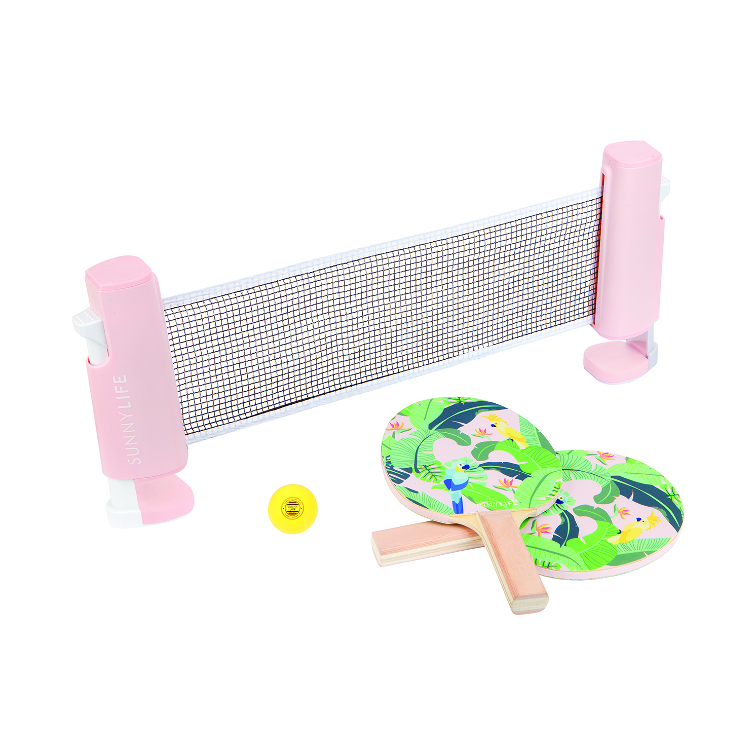Sunnylife – Monteverde Play On Table Tennis/Ping Pong Set in Box