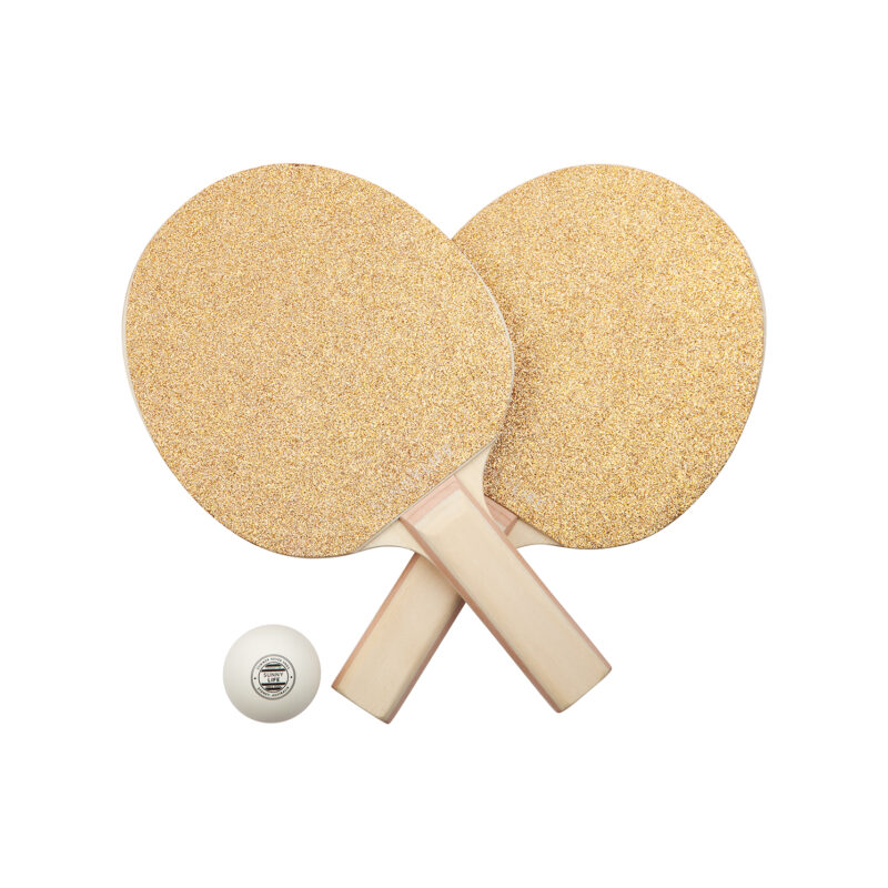 Sunnylife – Glitter Play On Table Tennis/Ping Pong Set in Box