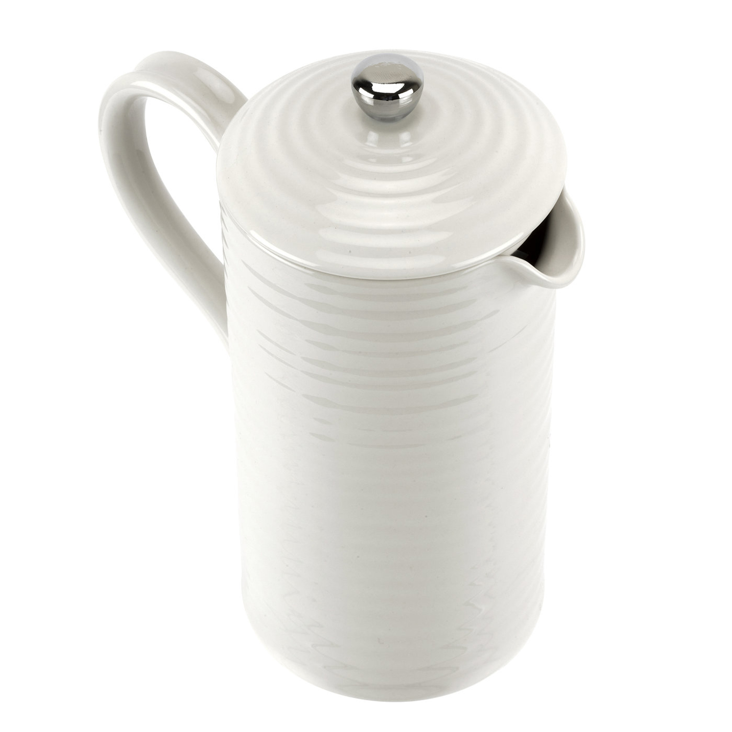 Sophie Conran for Portmeirion – White Porcelain Cafetiere in Gift Box