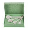 Philippi – 2 Pairs of Black & Silver Chopsticks in Presentation Gift Box