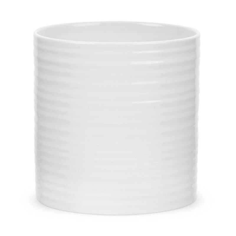 Sophie Conran for Portmeirion – White Large Oval Utensil Jar in Gift Box