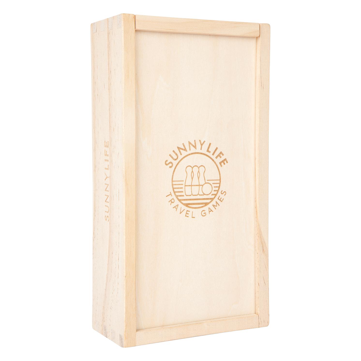 Sunnylife – Mailbu Travel Skittles in Wooden Case