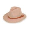 Powder – Natalie Tangerine Hat with Powder Presentation Gift Bag