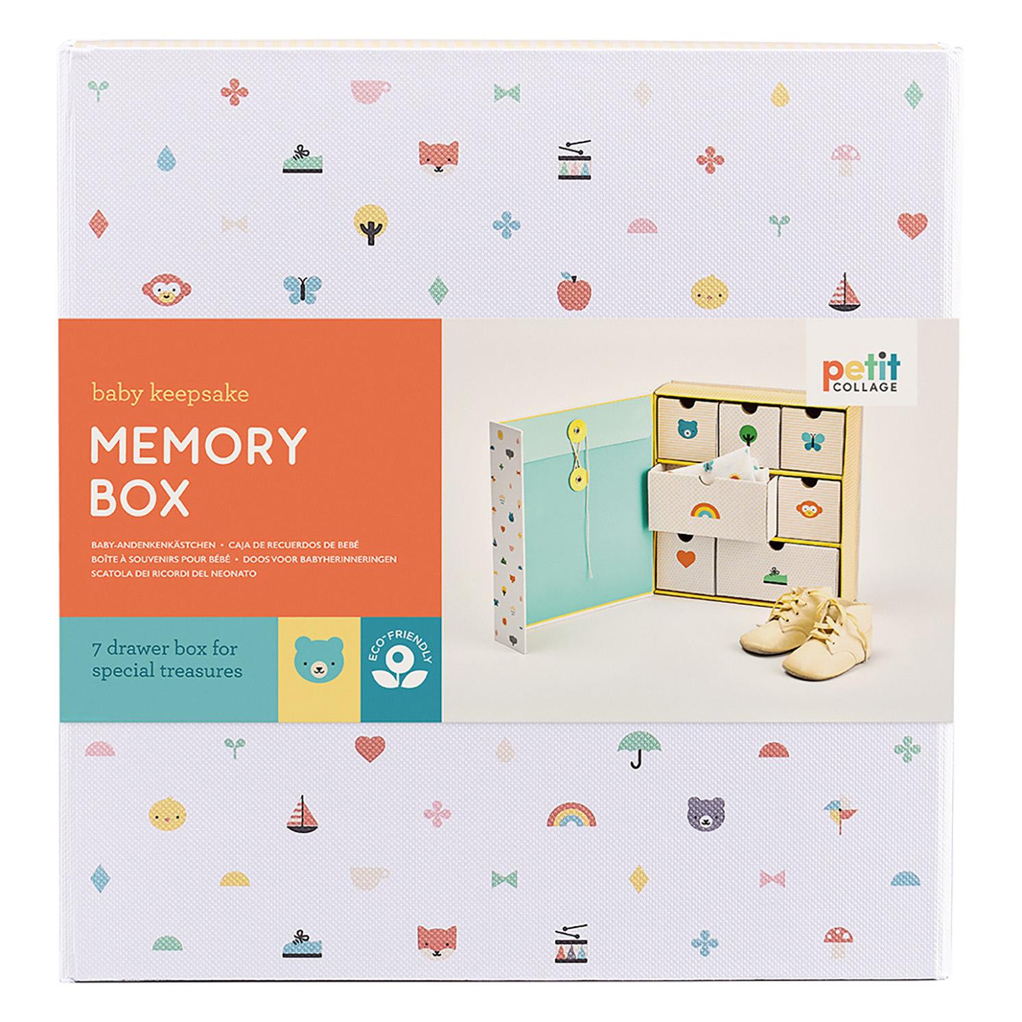 Petit Collage – Baby Keepsake Memory Box