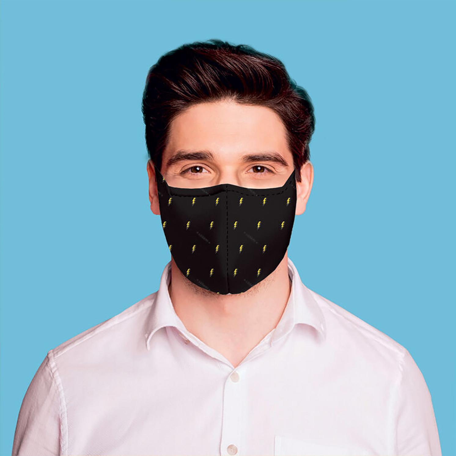"Legami – What a Mask! ""Flash"" Reusable Face Mask & Ocean Breeze Hand Gel"