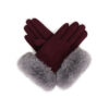 Powder – Sage/Stone Bettina Faux Suede Gloves with Powder Presentation Gift Bag