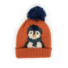 Powder – Kid's Cosy Penguin Hat in Ice with Powder Presentation Gift Box