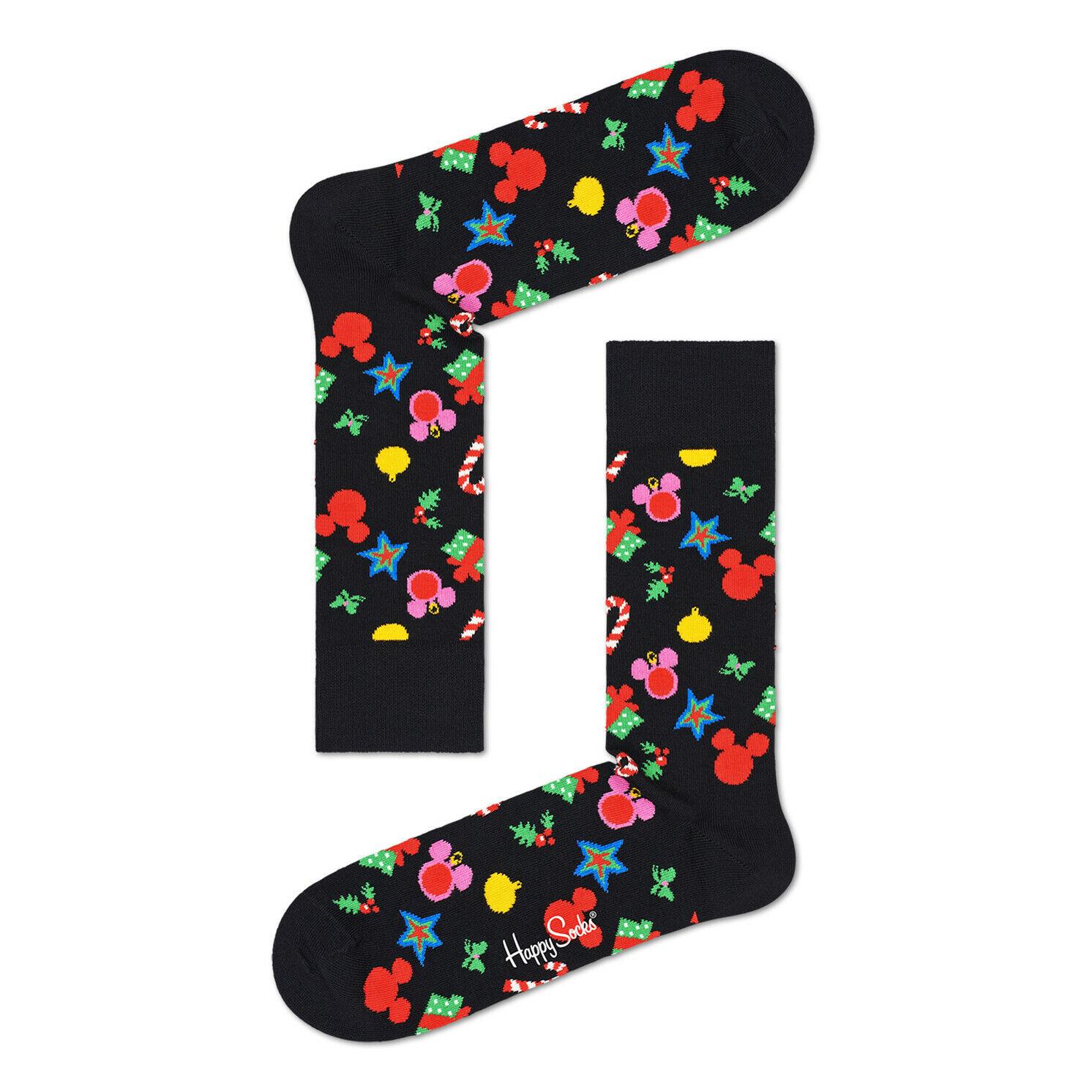 Happy Socks – Set of 4 Pairs of Disney Holiday Socks in Presentation Gift Box