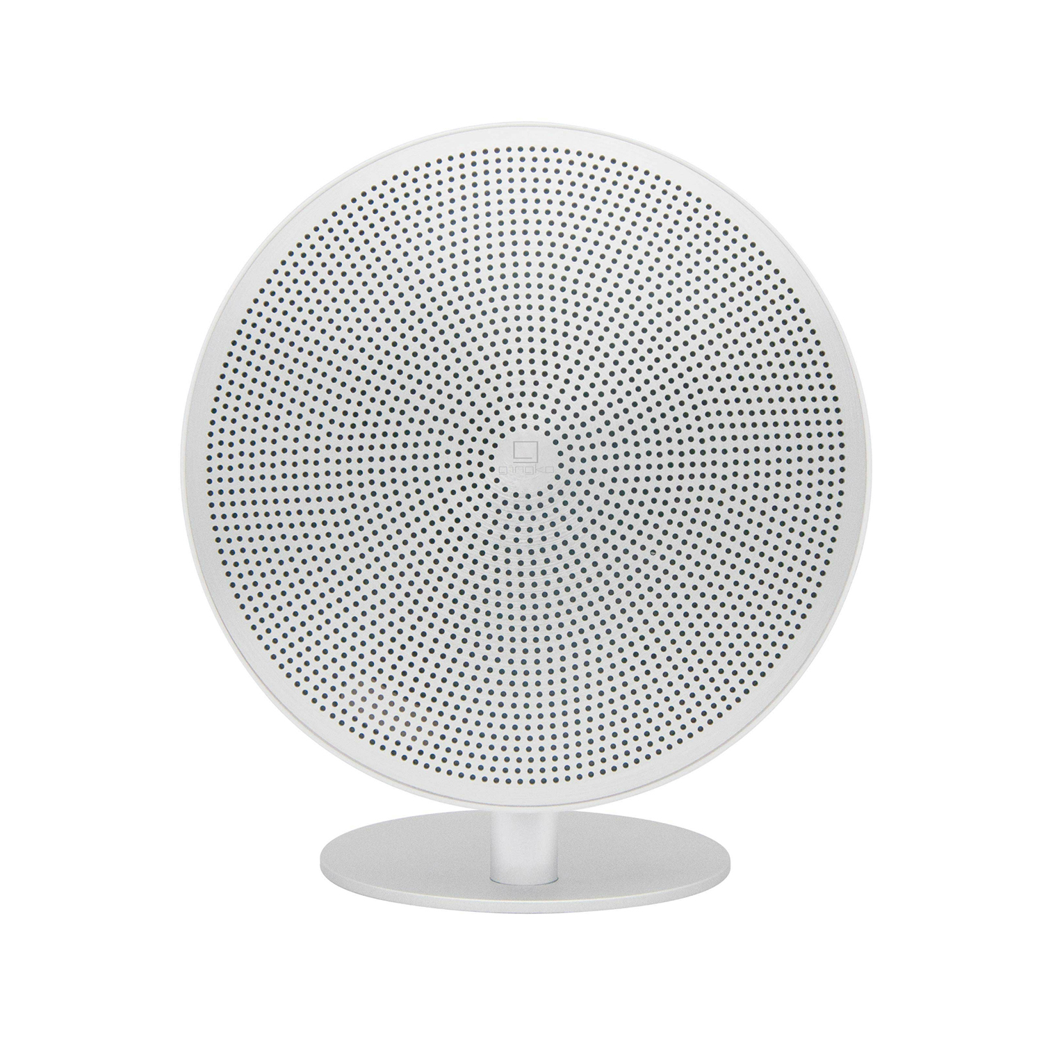 Gingko – Mini Halo One Touch Control Bluetooth Speaker in Gift Box – White