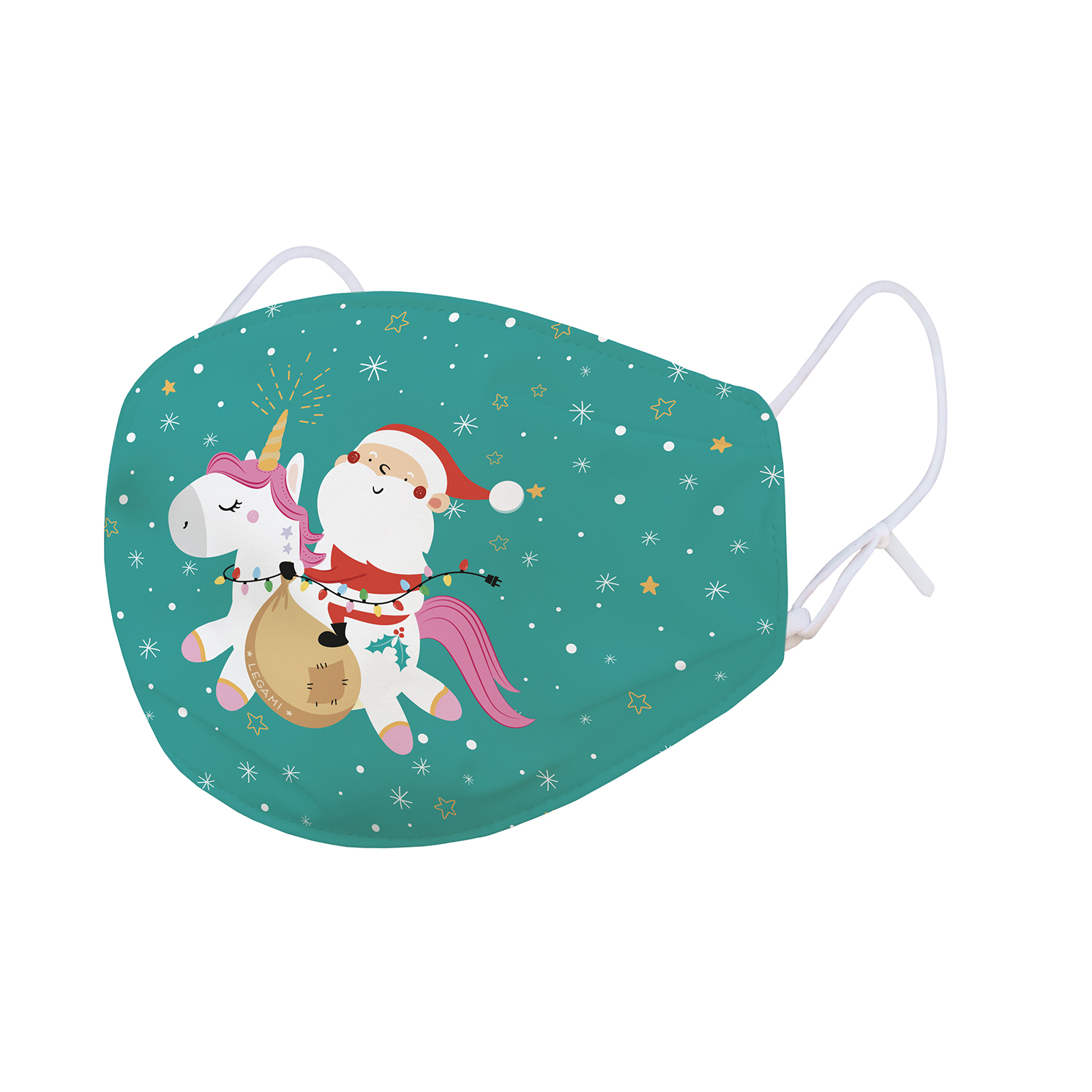 """Legami – Kids What a Mask! """"Magic Unicorn"""" Limited Edition Reusable Face Mask"""