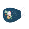 """Legami – What a Mask! """"Santa Emoticon"""" Limited Edition Reusable Face Mask"""