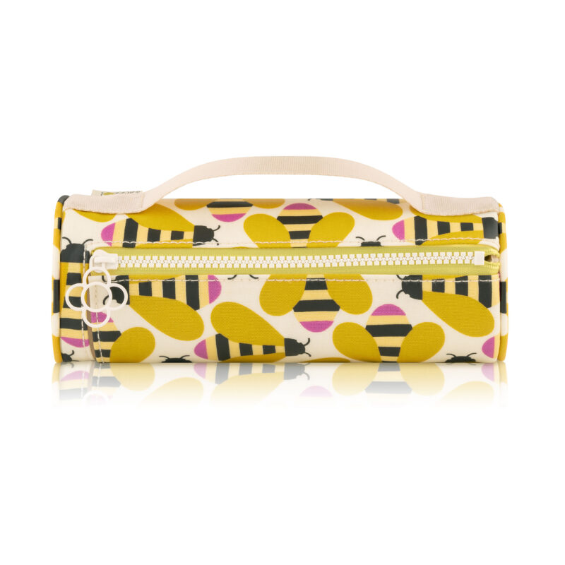 Orla Kiely – Busy Bee Collection Cosmetic Brush/Pencil Case