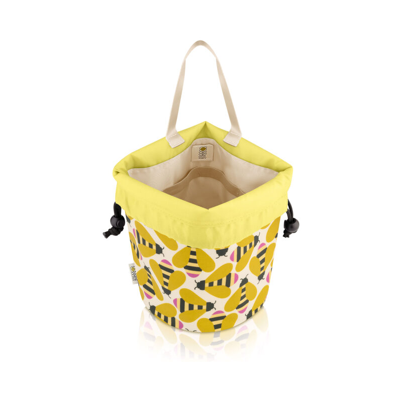 Orla Kiely – Busy Bee Collection Barrel Wash Bag