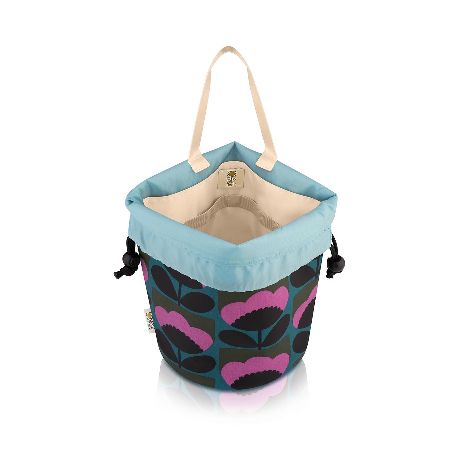 Orla Kiely – Spring Bloom Collection Barrel Wash Bag
