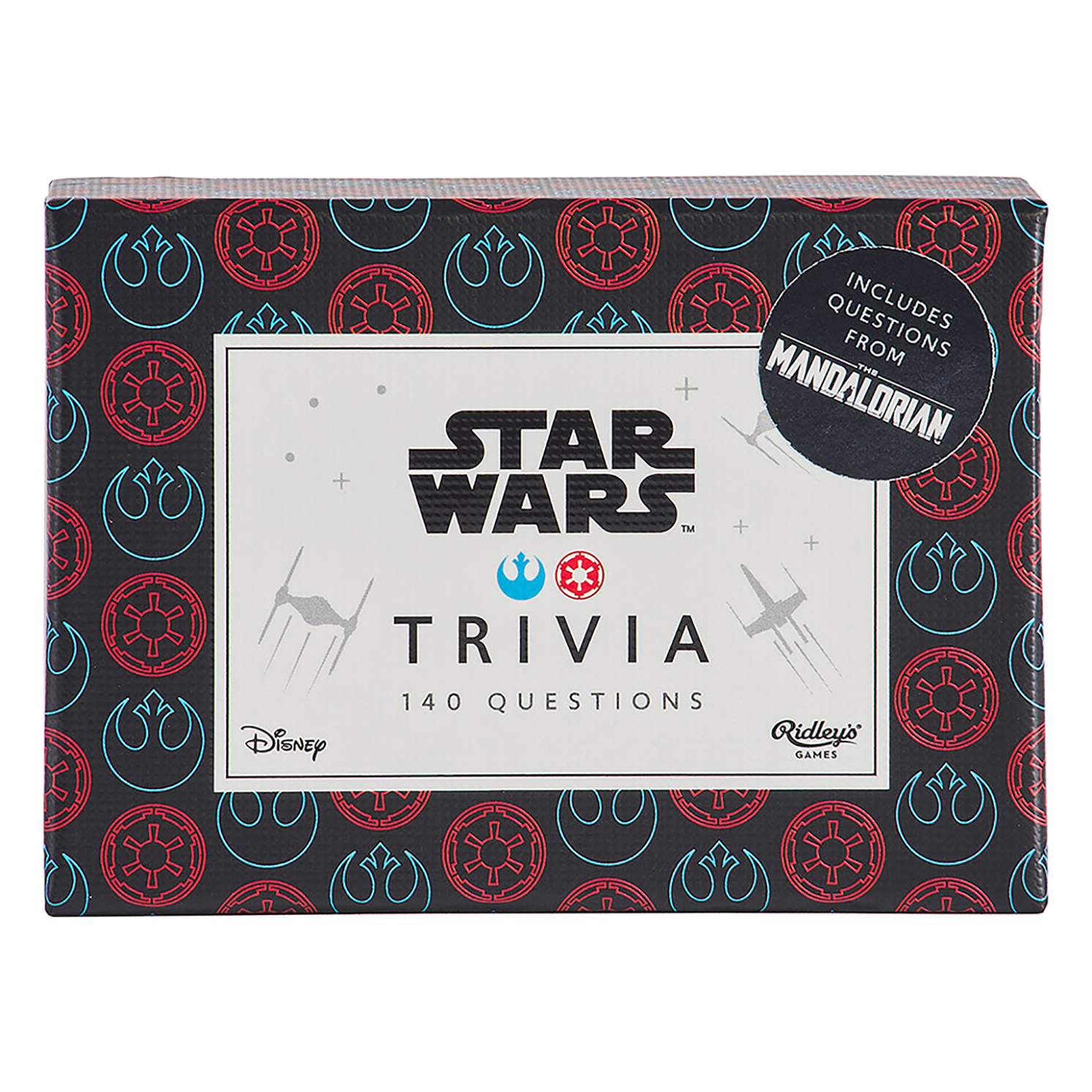 Ridley's Games – Disney Star Wars Trivia Quiz Game in Box