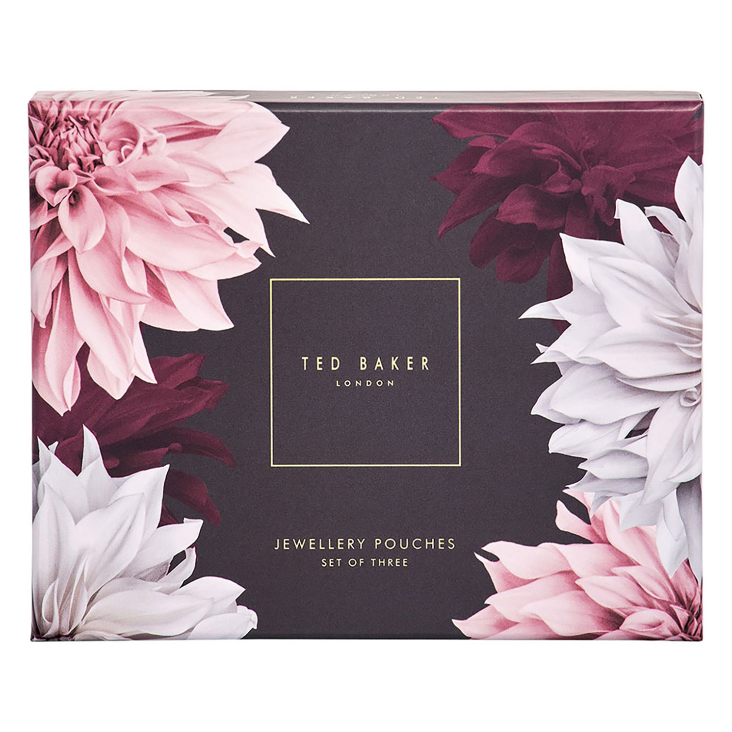Ted Baker – Trio of Clove Jewellery Travel Pouches in Presentation Box