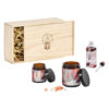 Wanderflower – Lavender & Fig Sleep Well Set in Wooden Gift Box