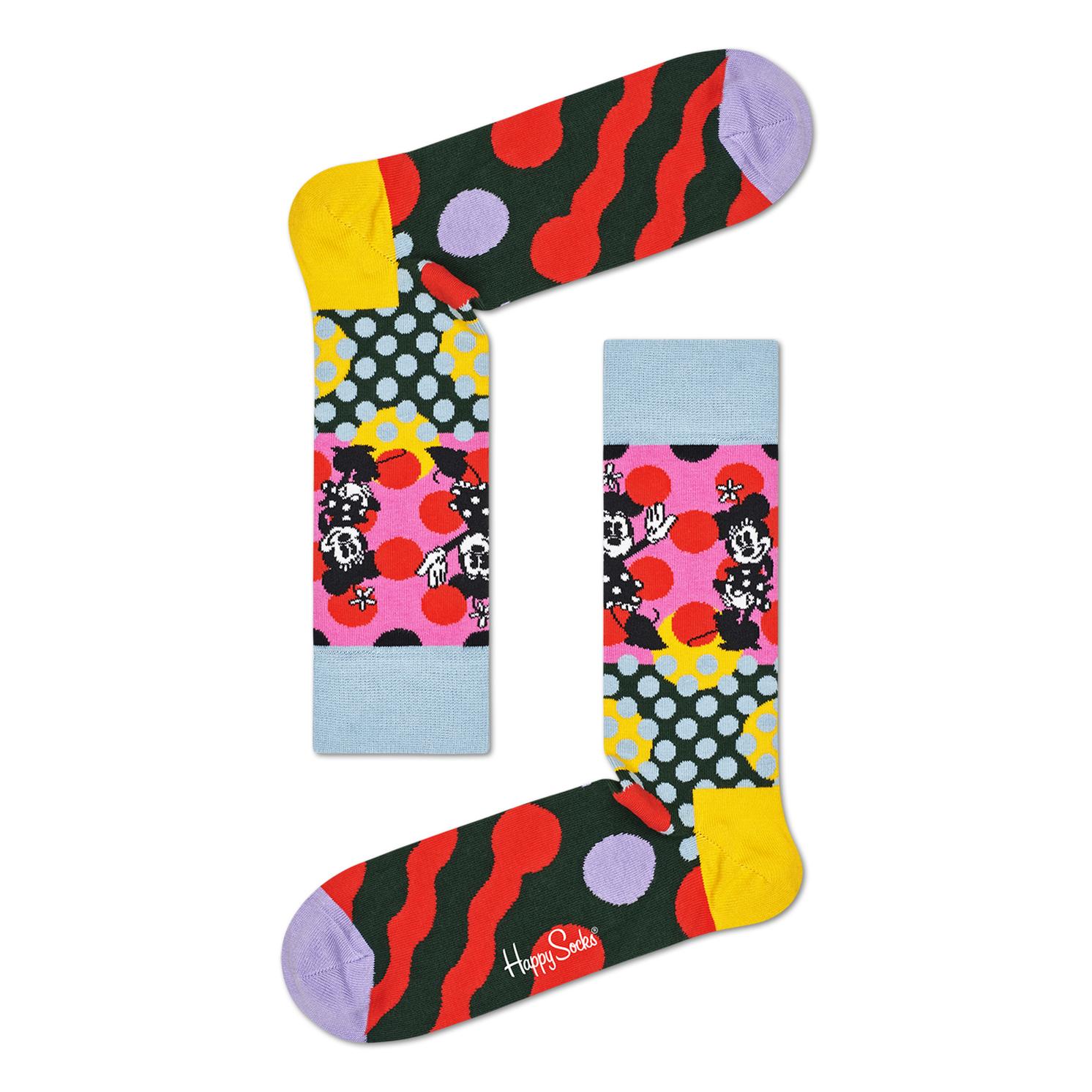 Happy Socks – Set of 4 Pairs of Disney Socks in Presentation Gift Box