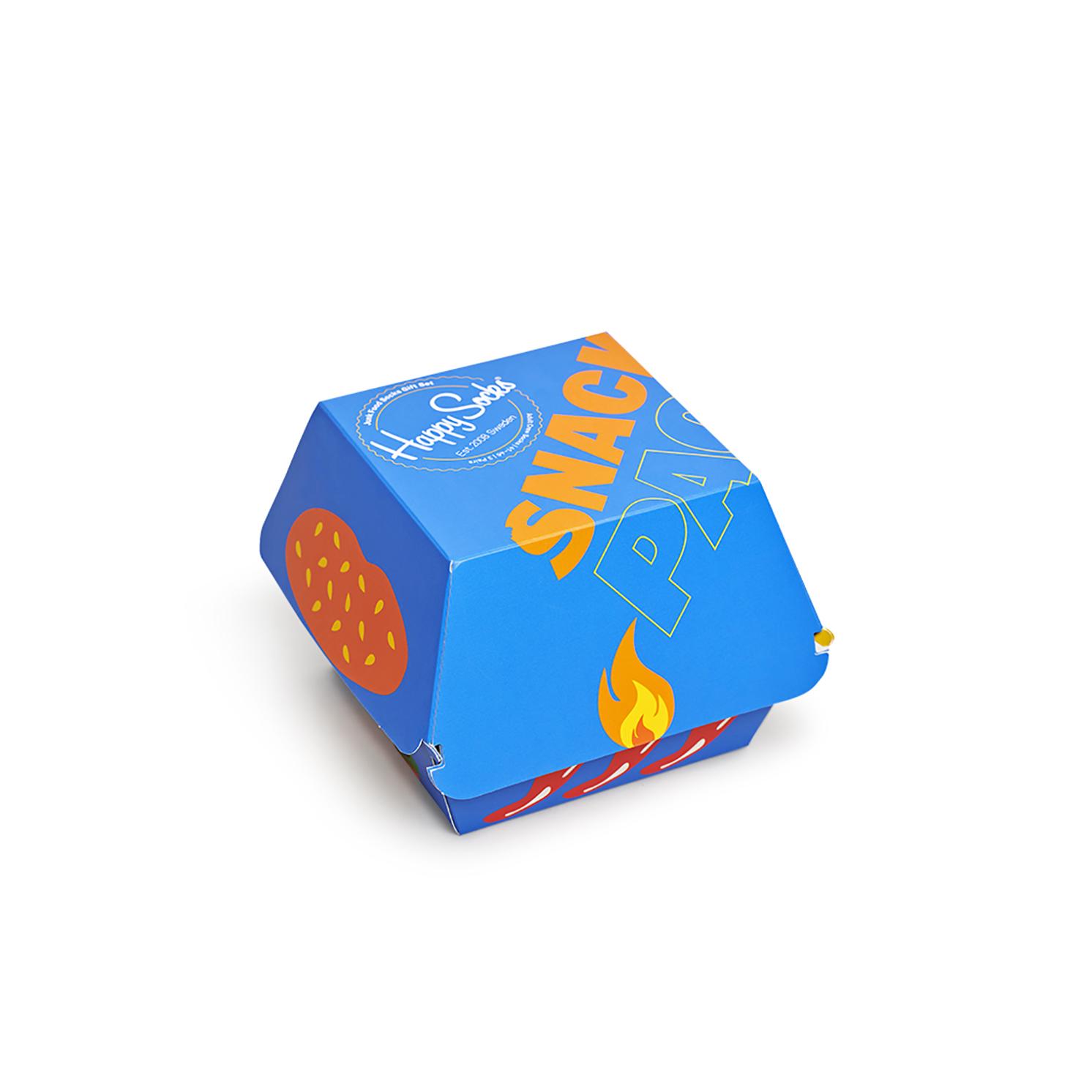 Happy Socks – Set of 3 Pairs of Junk Food Socks in Presentation Gift Box