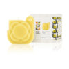 Orla Kiely - White Grapefruit & Basil Hen Moulded Candle in Gift Box