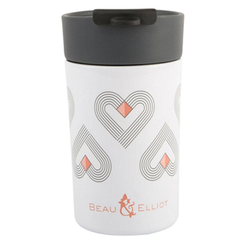 Beau & Elliot – Vibe White Insulated Travel Mug