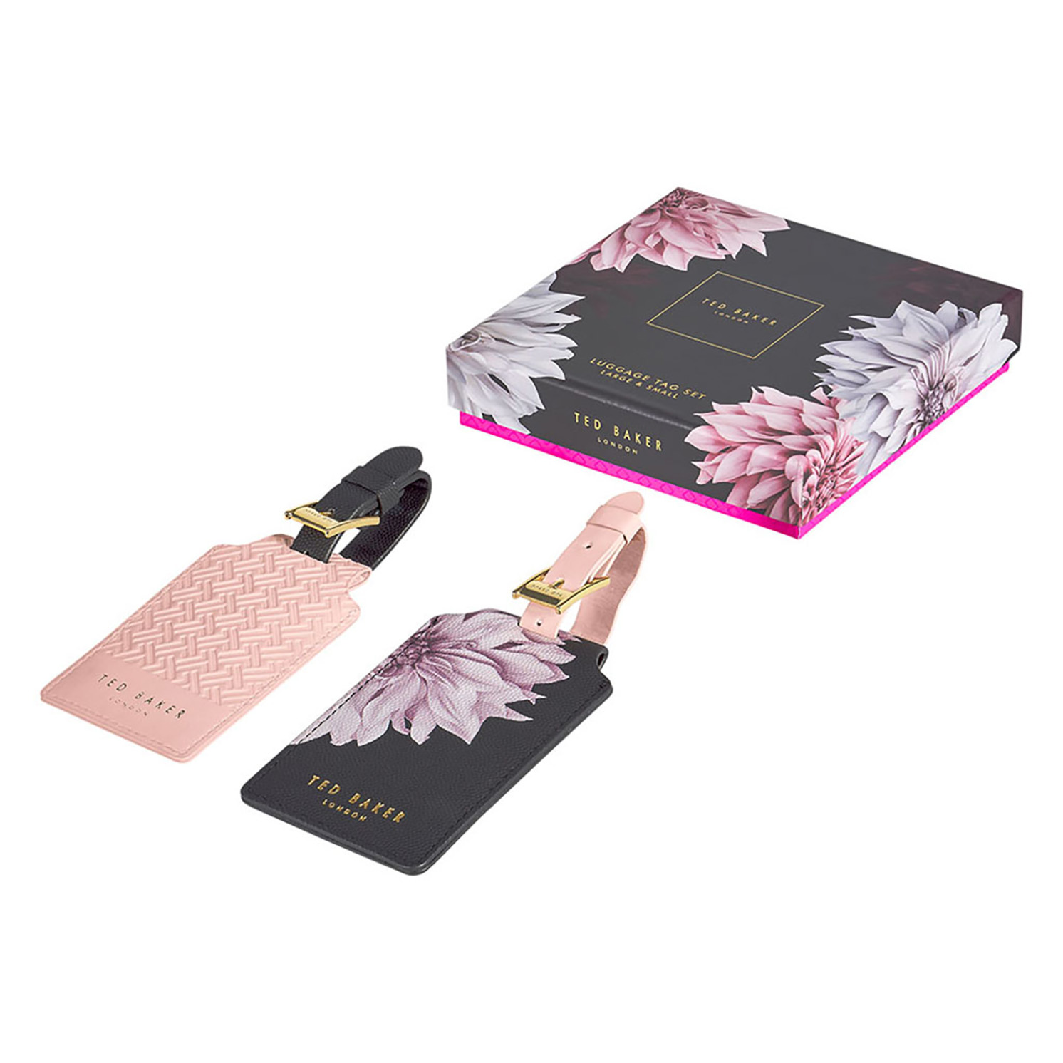 Ted Baker – Set of 2 Clove Luggage Tags in Presentation Gift Box