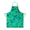 Sara Miller – Blue Tahiti Cockatoo Apron in Presentation Gift Box