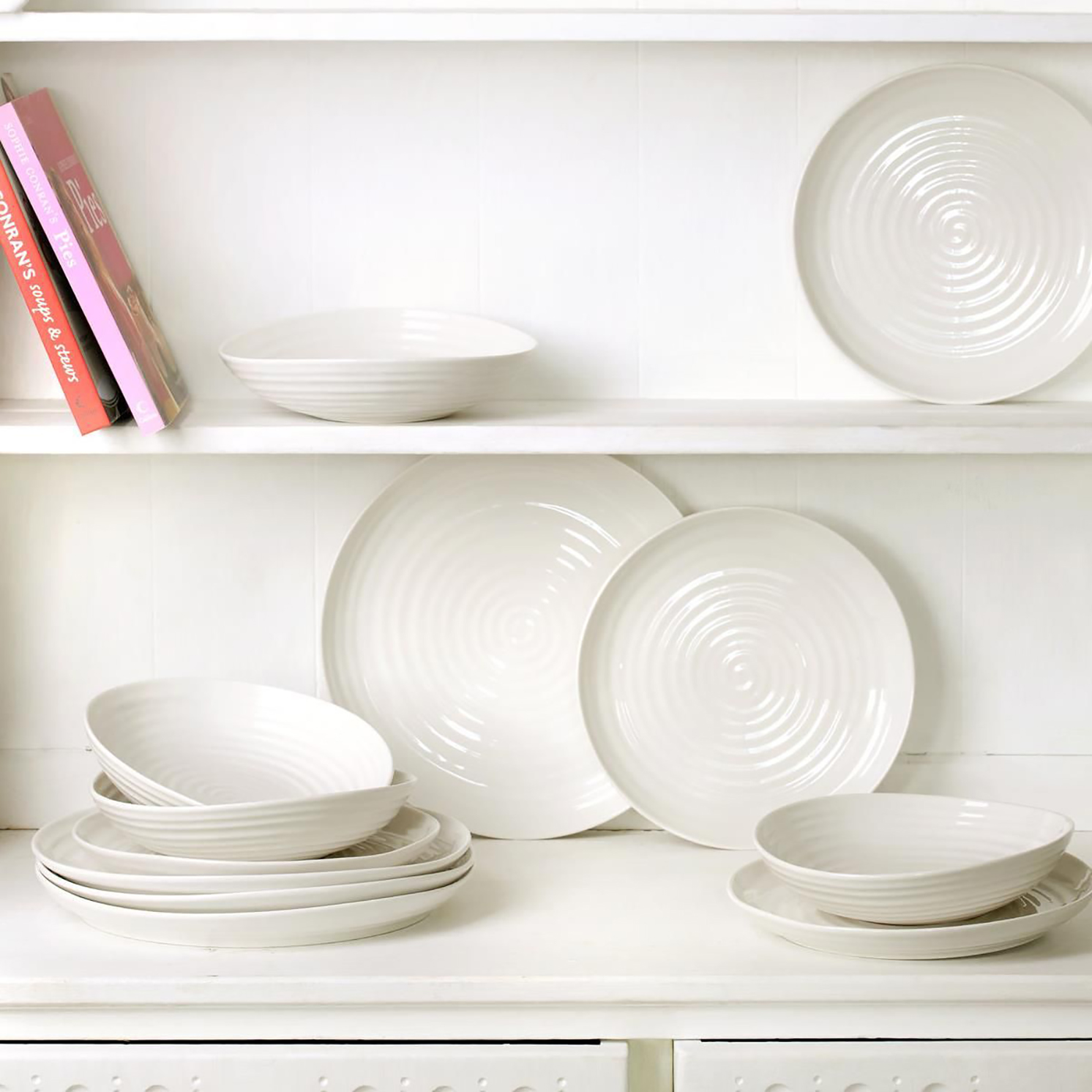 Sophie Conran for Portmeirion – Set of 4 White Noodle Bowls in Gift Box