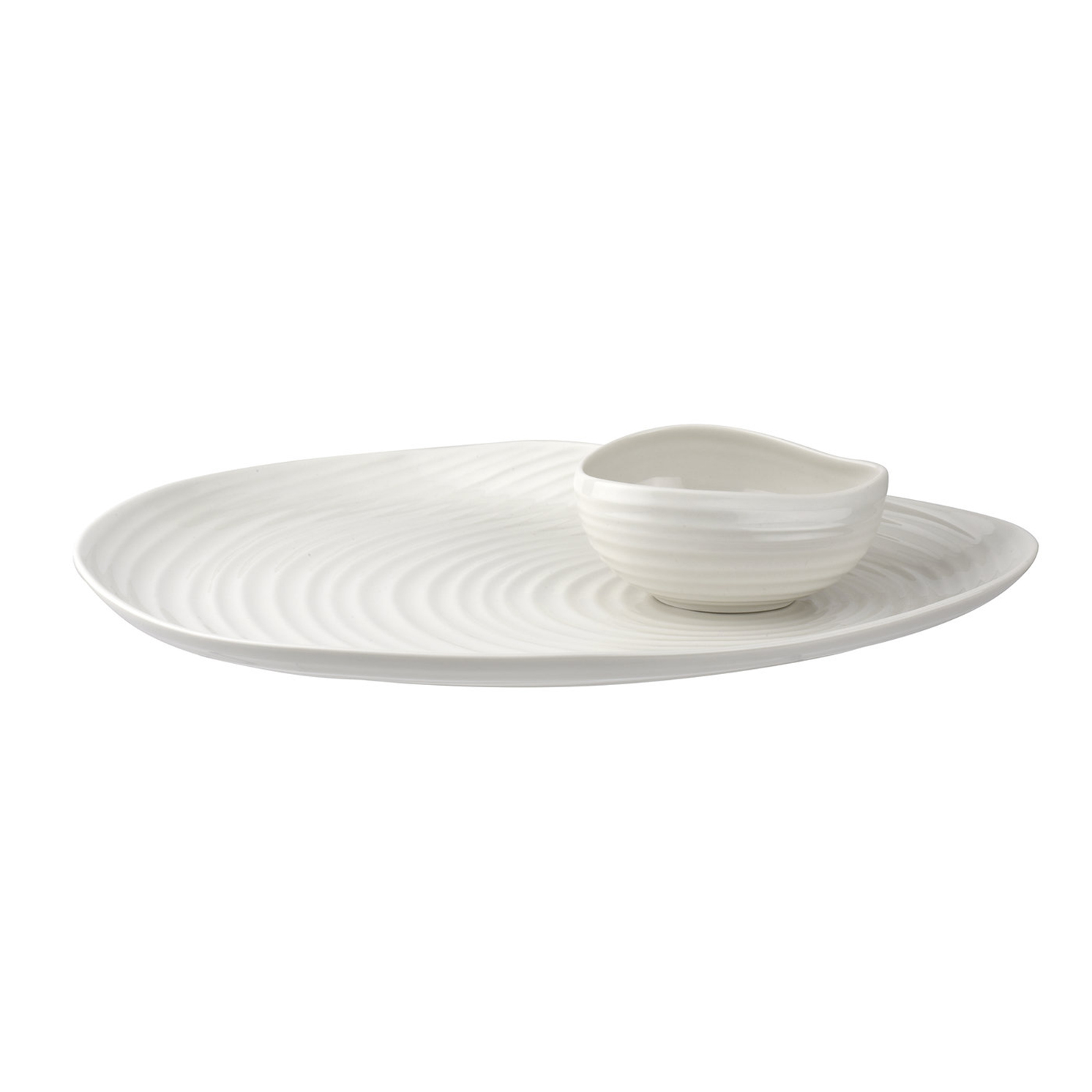 Sophie Conran for Portmeirion – Shell Shaped Serving Platter & Bowl in Gift Box