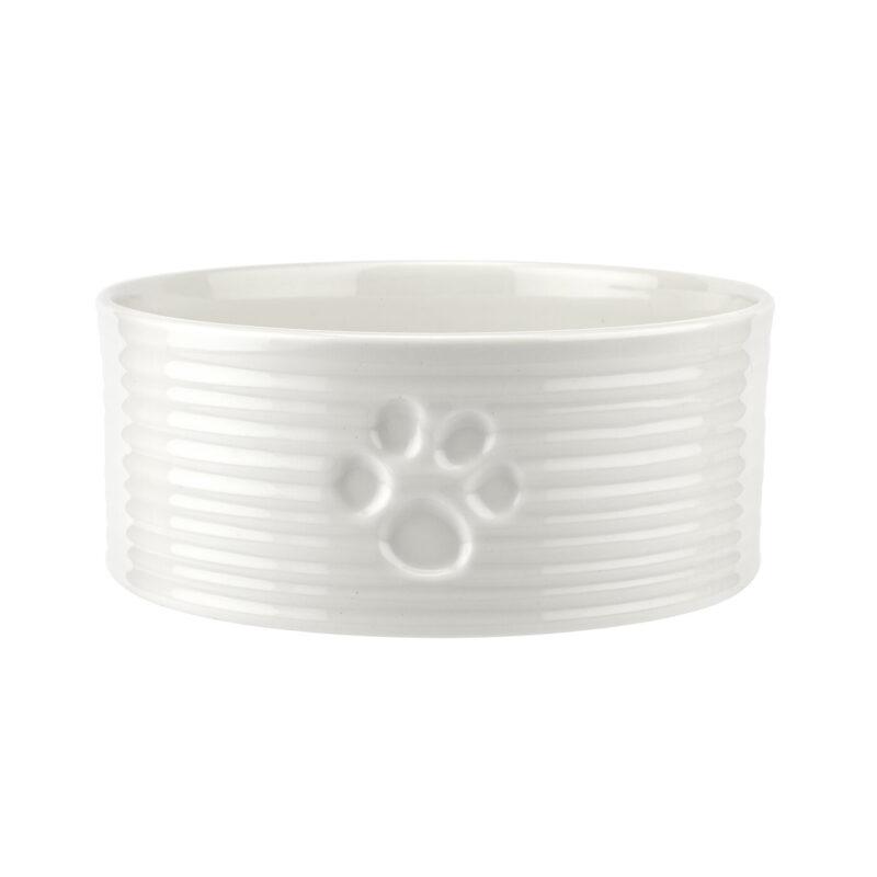 Sophie Conran for Portmeirion – White 15.25cm Diameter Pet Bowl in Box