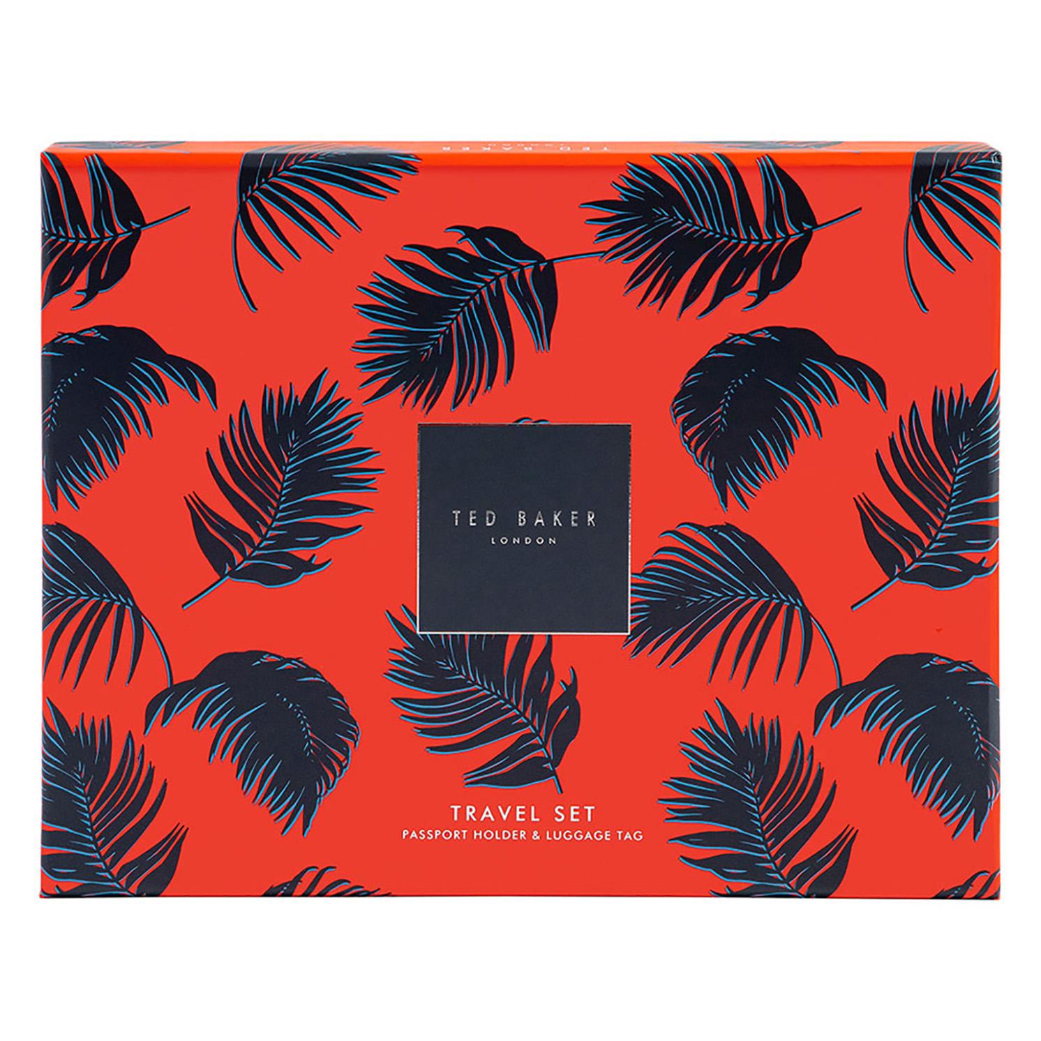 Ted Baker – Black T Travel Set in Presentation Gift Box