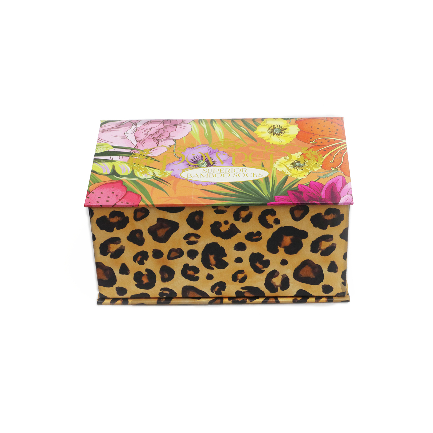 Powder – Set of 3 Pairs of Blooming Jungle Ankle Socks in Presentation Box