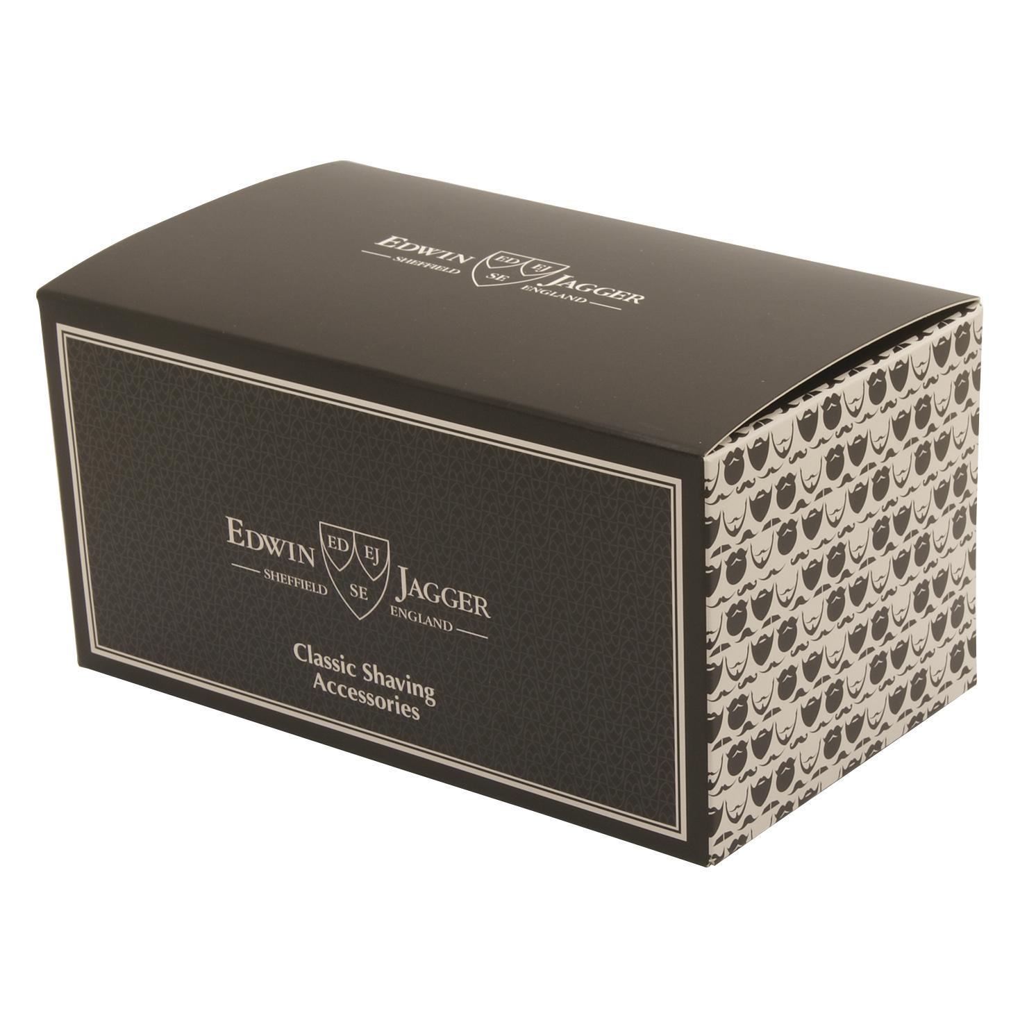 Edwin Jagger – Grey & Chrome 3 Piece DE Safety Razor Shaving Set in Gift Box