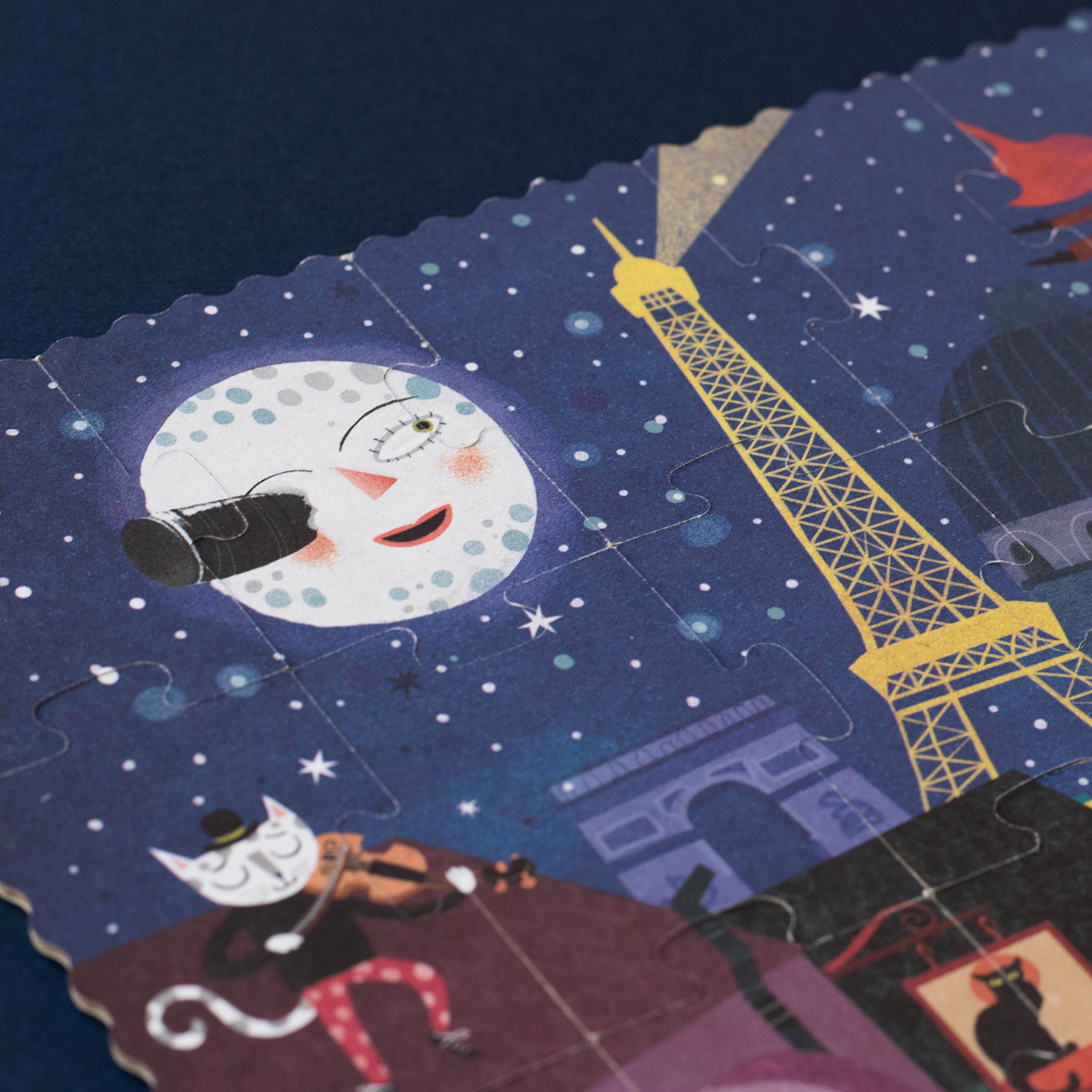 Londji – Night & Day in Paris Reversible Puzzle in Box