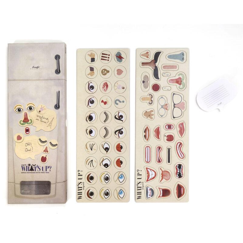Londji – What's Up Fridge Magnets in Box