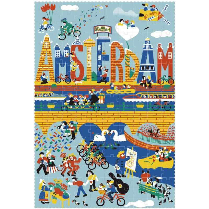 Londji – Amsterdam Puzzle in Tube