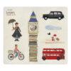 Londji – Paris Fridge Magnets on Card