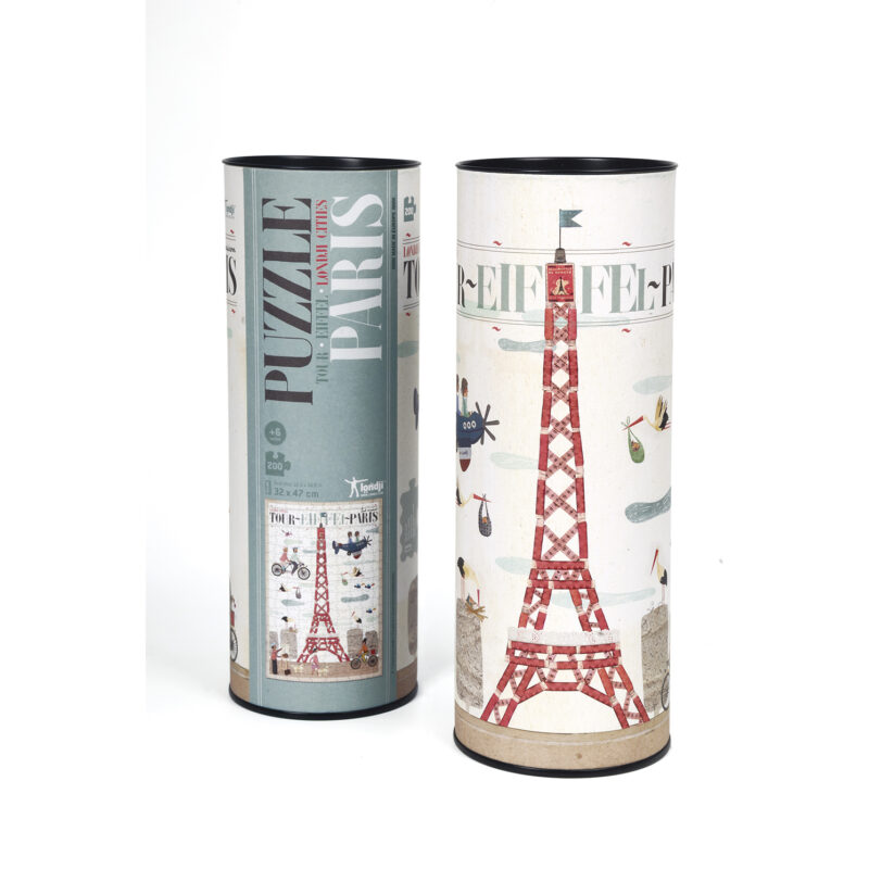 Londji – Tour Eiffel Paris Puzzle in Tube