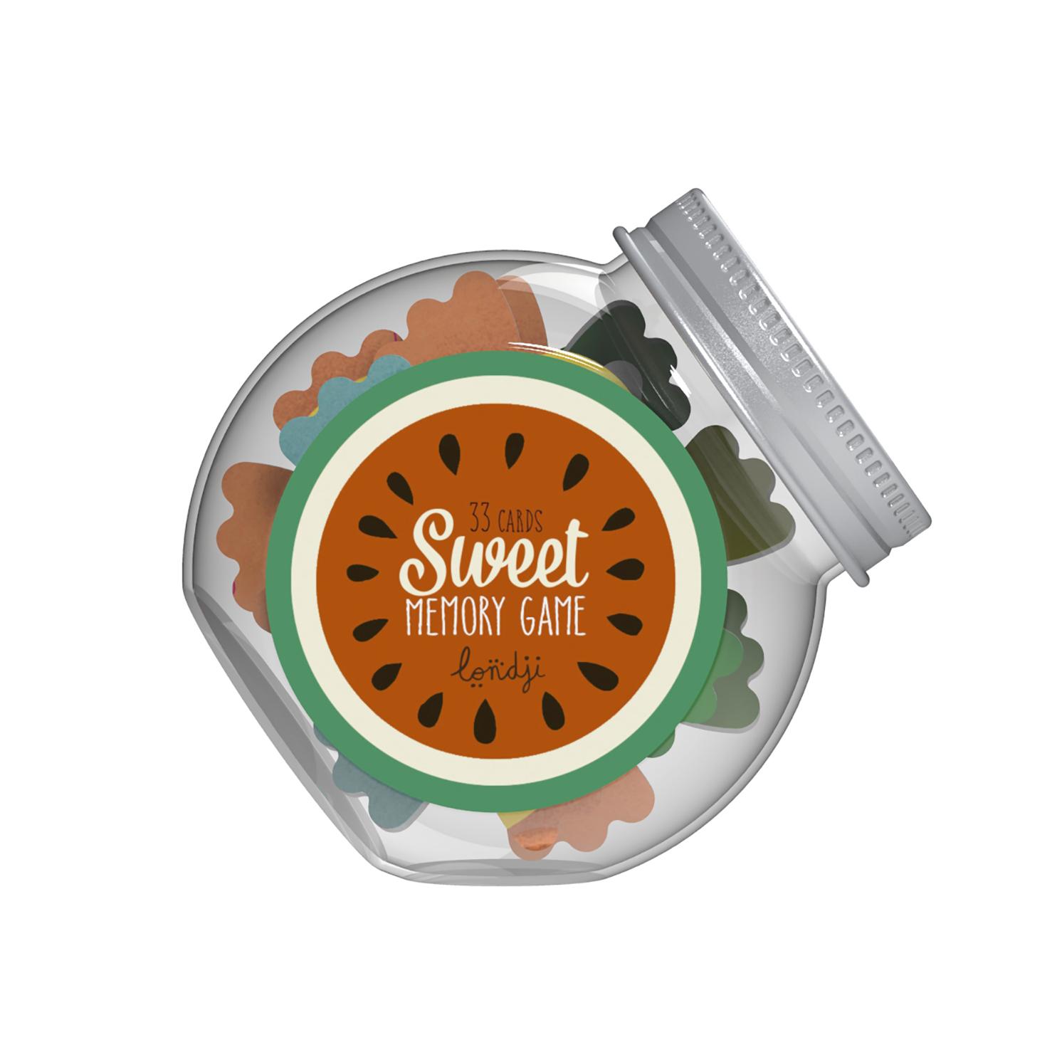 Londji – Sweet Memo Memory Game in Sweet Jar