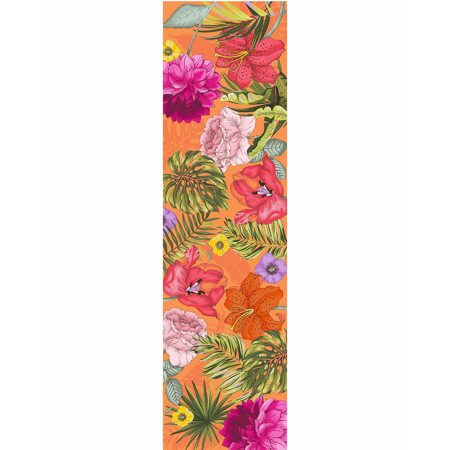 Powder – Orange Blooming Jungle Neck Scarf with Powder Presentation Gift Bag