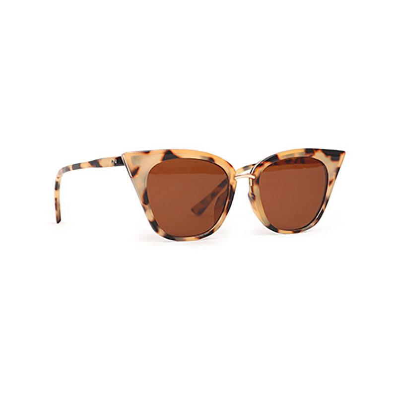 Powder – Tortoiseshell Sophia Sunglasses with Box Case